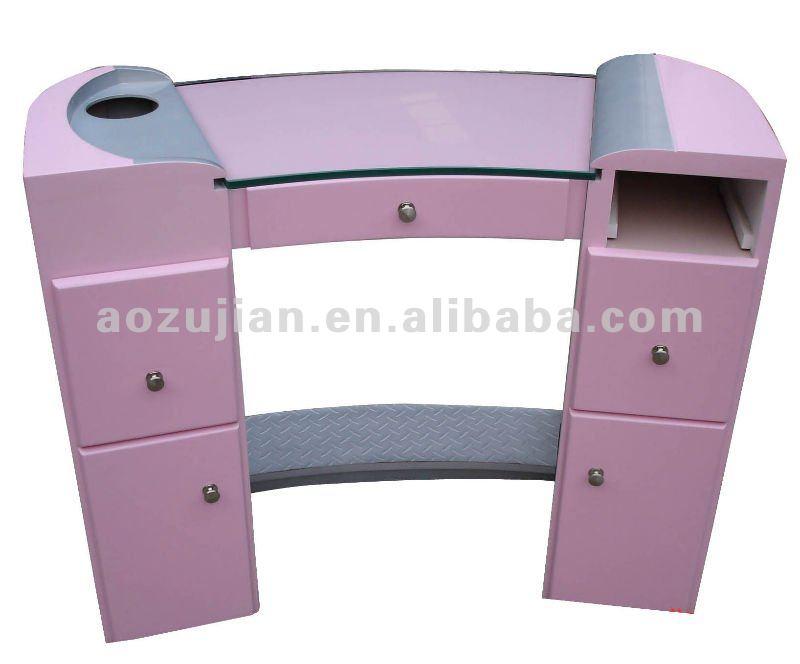 Manicure table table Nail salon de mesa equipo de la belleza del modelo : AZJ-M010