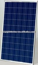 best price solar power 205W27V pv poly paneles solare kit