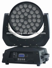 36*10W RGBW 4IN1 lyre led moving head wash lights