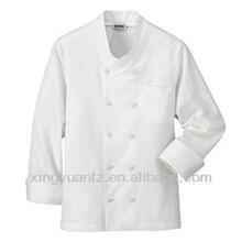 Quality hotel chef uniform