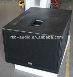 "(SB1000Z) Dual 18"" long-throw high power subwoofer speaker box"