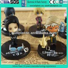 hot toys pvc figure/plastic anime figure toys/plastic cartoon characters diy figure toy