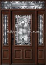 Wooden Front Doors And Windows Design DJ-S9113MSTHS-13