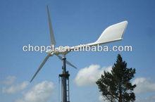 300w-20kw en la azotea de la turbina de viento y pequeño FRP hoja para el hogar