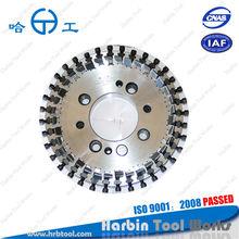 Tri-plex roughing Spiral bevel gear, for Gleason machine, milling cutter professional manufacturer, ISO9001