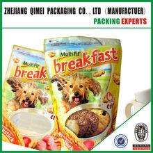 Custom Design Stand Up Dog Food Bags