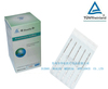 Disposable Stainless steel flat handle acupuncture needles without tube