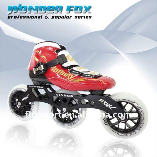 Professional 3 Wheel Inline Skates,Fox Skate,Speed Roller Skate