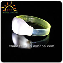 Free sample sound activated LED bracelet with CPSIA certificate