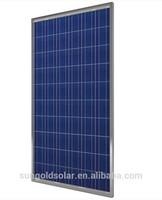 Polycrystalline silicon 280W 36V solar panel/pv module