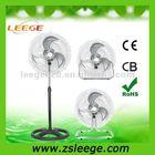 """FS45-31 OEM Hot sale powerful metal stand fan /18"""" industrial 3in1 fan"""
