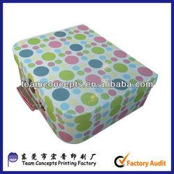Children Cardboard Paper Suitcase Set