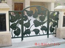 Top-selling swing wrought iron door iron gate design