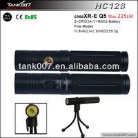 Mini Tripod LED Keychain Flashlight (HC128)