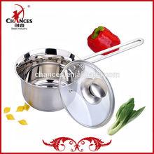 Mini Italian Style 304 Stainless Steel Saucepan