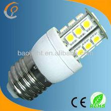 shenzhen guangdong leds E27 mini 3W 5050 led corn light bulb warm white
