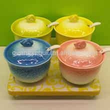 porcelain seasoning dish