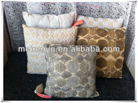 New design crystal beads embroidered handwork cushion cover.