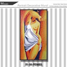 Jy-jh-pdm01 sexo chica imagen de 3d sexy de la serie imágenes de mujeres desnudas de arte del mosaico
