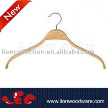 LEC-V003 Natural color finish Laminated Hanger