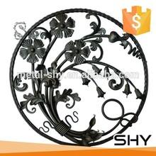 Iron Decor, Wrought Iron Flower Panels