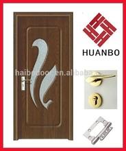 PVC MDF Interior wooden doors design