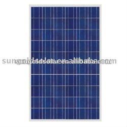 solar power 215W27V poly solar panel kit made of Suntech solar cells