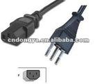 Italy 3pin Power Cord