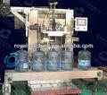 5 botella de galón de cuello y manga máquina de etiquetado