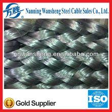 Galvanized steel wire for strand
