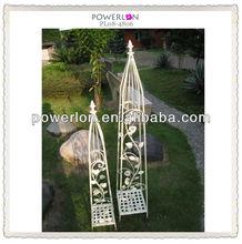 handmade new design classical metal unique wholesale decorative garden flower pot sticks leisure ways patio furniture