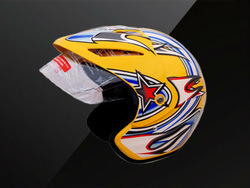 open face helmet ,half helmet .motorcycle helmet