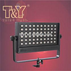 120 watts high CRI bi-color led video camera light