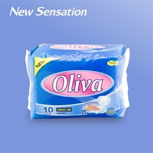 Winged silk soft cotton A grade sanitary pad manufacturer in China LS002