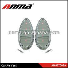 Different shape design car decorate air flow car air vent
