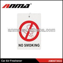 Nice anima cartoon shape car paper air freshener novelty car air fresheners