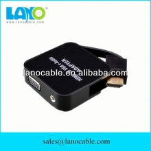 Factory directly supply high quality hdmi to 3rca+vga cable