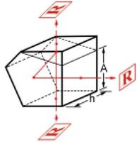 Beam splitter Penta Prism for Survey, Industry and R&D