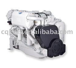 marine genset 6CTA8.3-D(M) cummins engine 50Hz 154kw