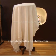 Fashionable Ivory Silk Throw-Differ Design