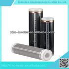 Infrared heating film heating system