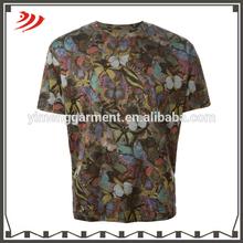 wholesale men custom t-shirt printing design all over printed