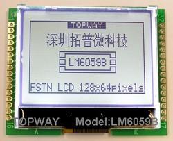 128x64 LCD Module Lm6059bcwu