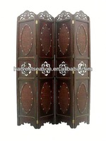 2014 hot sell vintage carved wooden chinese screens
