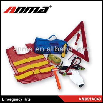 Sample but important ourside auto emergency tool kit