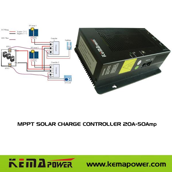 12V24V 20A-50Amp MPPT SOLAR CHARGE CONTROLLER