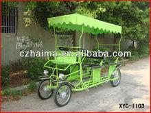 18' wheel four wheel double-row surrey bike