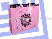 2014 Pink Gift Paper Bag