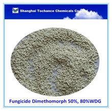 Fungicide Dimethomorph 50%, 80%WDG