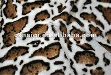 cheetah velvet fabric fake fur